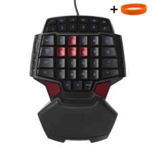 mini clavier gamer Kkmoon T9