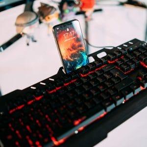 clavier gamer pas cher Klim Lightning