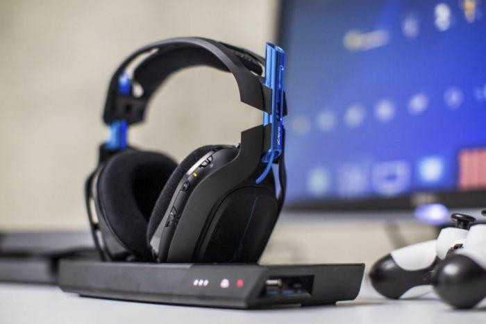 Casque Gamer Sans Fil Astro A50 Ps4 Headset