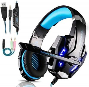 Micro Casque Gaming PS4, PC, Switch, Xbox One FuninGeek
